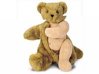 Плюшевый медведь со съемной шкурой