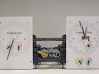 Часы и календарь из лего