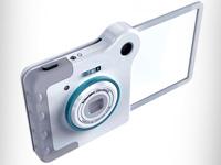 REC оригинальный фотоаппарат с прозрачным дисплеем
