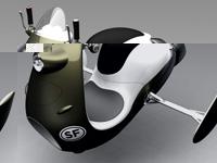 Воздушный скутер от Norio Fujikawa