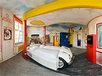 Отель V8 – экстравагантные номера для автолюбителей