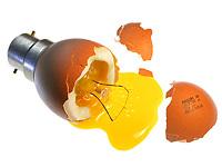 Лампочка яичница и другие креативы Alexandre Dubosc