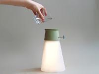 Лампа на воде