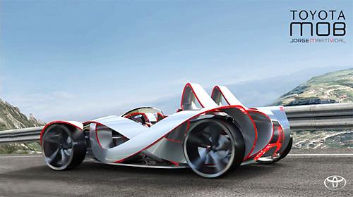 авто тойота концепт кар фото
