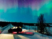 Красивое видео ночного звёздного неба