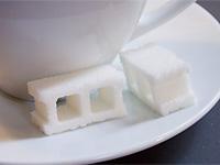 Дырявые сахарные блоки