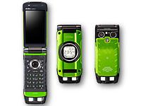 Телефон раскладушки G'zOne Type-X с 12MP камерой