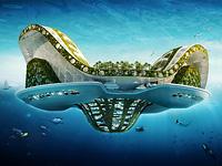 Плавающий город Lilypad готов к борьбе с водой