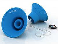 Резиновые динамики для усиления звука