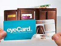 Увеличительная карта eyeCard вместо очков