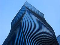 Волнистый небоскрёб в Сеуле