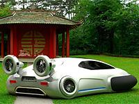 Автомобиль будущего Volkswagen Aqua