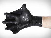 Плавательные перчатки с перепонками