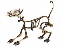 Скелеты животных в необычном искусстве