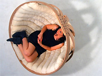Кресло качалка для релаксации