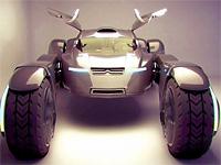 Концепт электрокара Citroen Taranis для езды по пустыне
