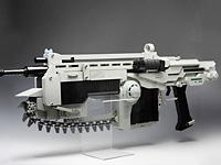 Лего автомат с пилой