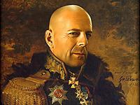 Известные личности в форме русских генералов