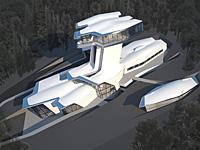 Интересное решение архитектурного дизайна