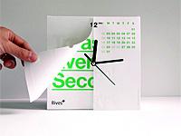 Интересный домашний гаджет календарь и часы