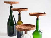 Фотографии бутылочных пробок в форме подноса