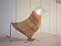 Интересный дизайн настольной лампы из Белорусии