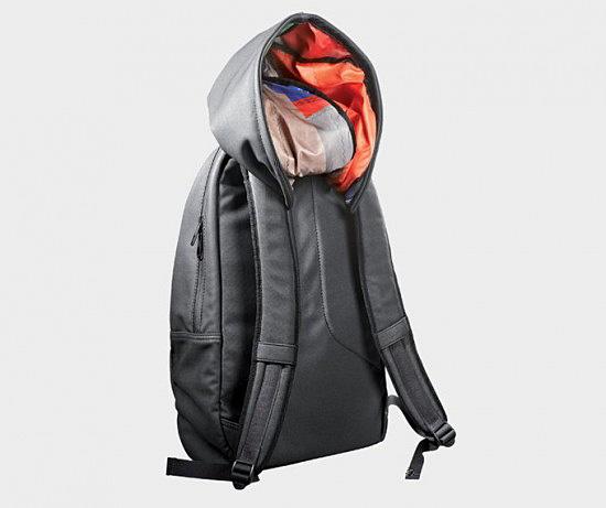 Креативная рюкзак с капюшоном .