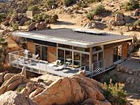 Дизайн и интерьер домика в пустыне