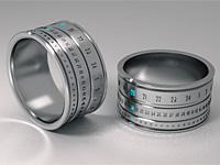 Часовой гаджет перстень