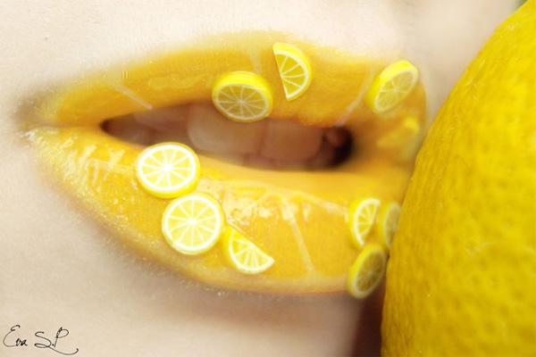 Модные губки в лимоне