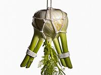 Связанные вкусные овощи и фрукты