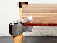 интересный вид домашнего стола