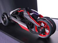 Дизайн концепт транспорта Ауди