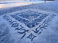Песчаниые рисунки