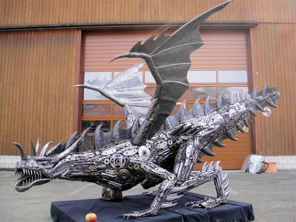 дракон фото