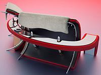 Слияние дивана и стола
